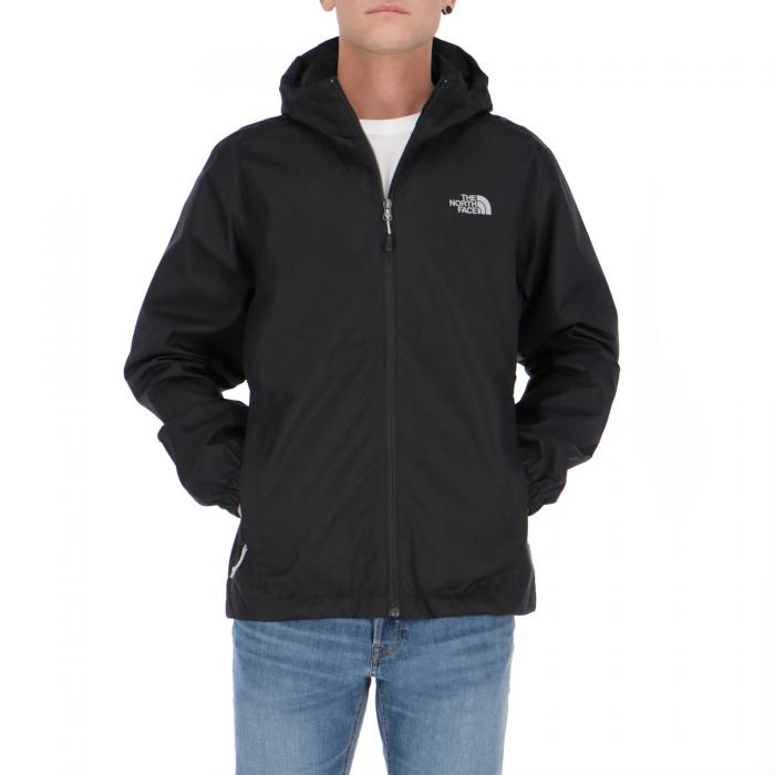 the north face giacche black